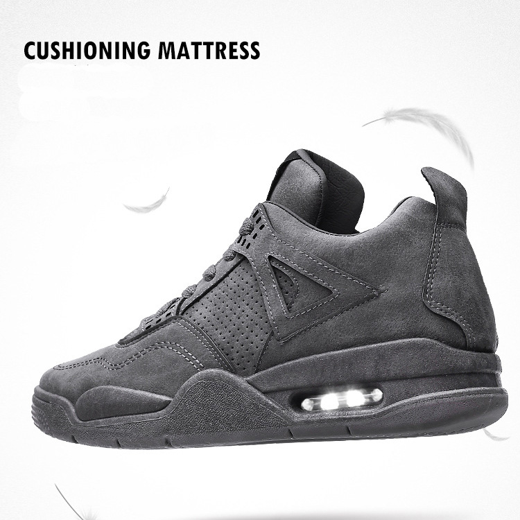 Men Gender and Genuine Leather Material leather men shoes foot wear air sports shoes
