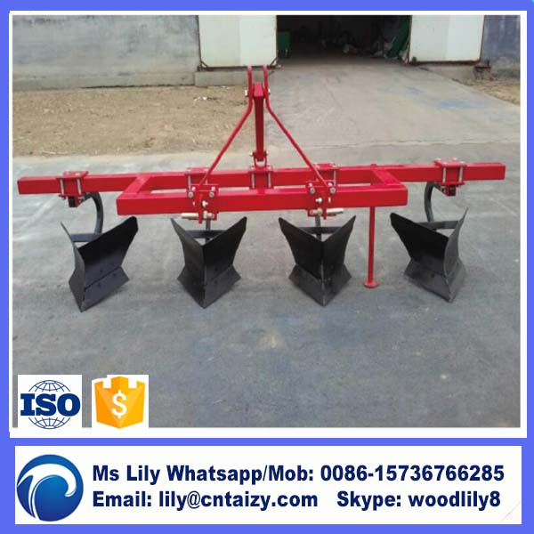 Farm Use Cheap Disc Ridger Tractor Ridger Potato Ridger Plough