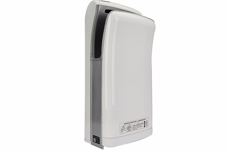 Safe automatic jet high speed unique vertical compressed hand dryer