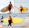 Drop shipping service! Highly speed inflatable sup board bamboo paddle board