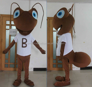 China manufacture good vision kids ant mascot costumes /kids ant costume for sale