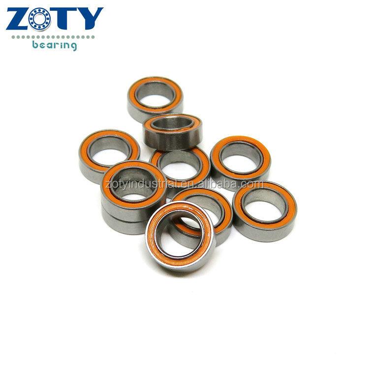 f ABEC-7 2 PCS 440c Stainless Steel CERAMIC Ball Bearing Bearings 6x12x4 mm