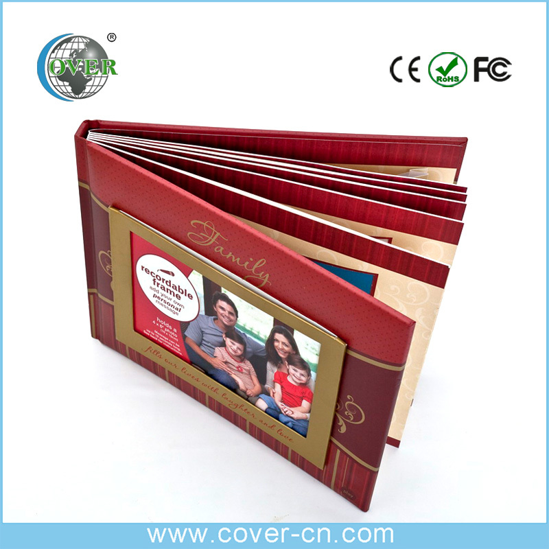Wholesale best selling wedding music photo album custom photo album