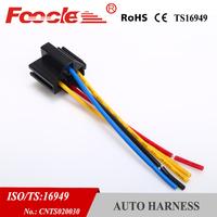 car waterproof relay socket auto wire harness connector fls320