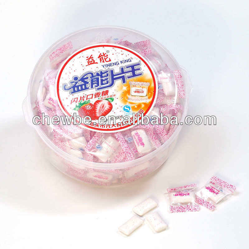 confectionery of chewing gum candy