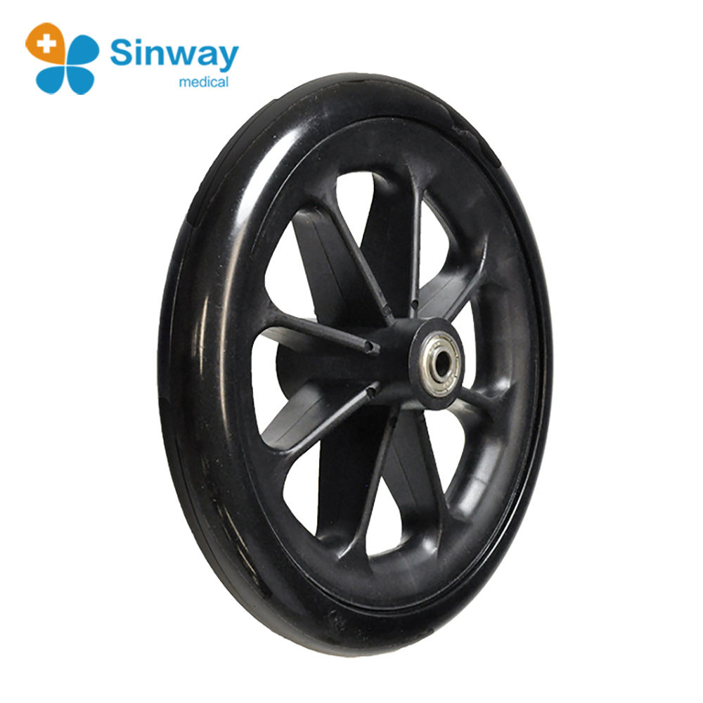 Hot selling Wheelchair front wheel spares parts wheels