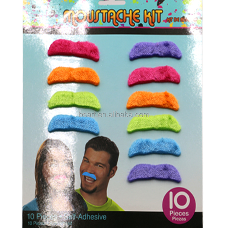 funny costume party Halloween fake mustache