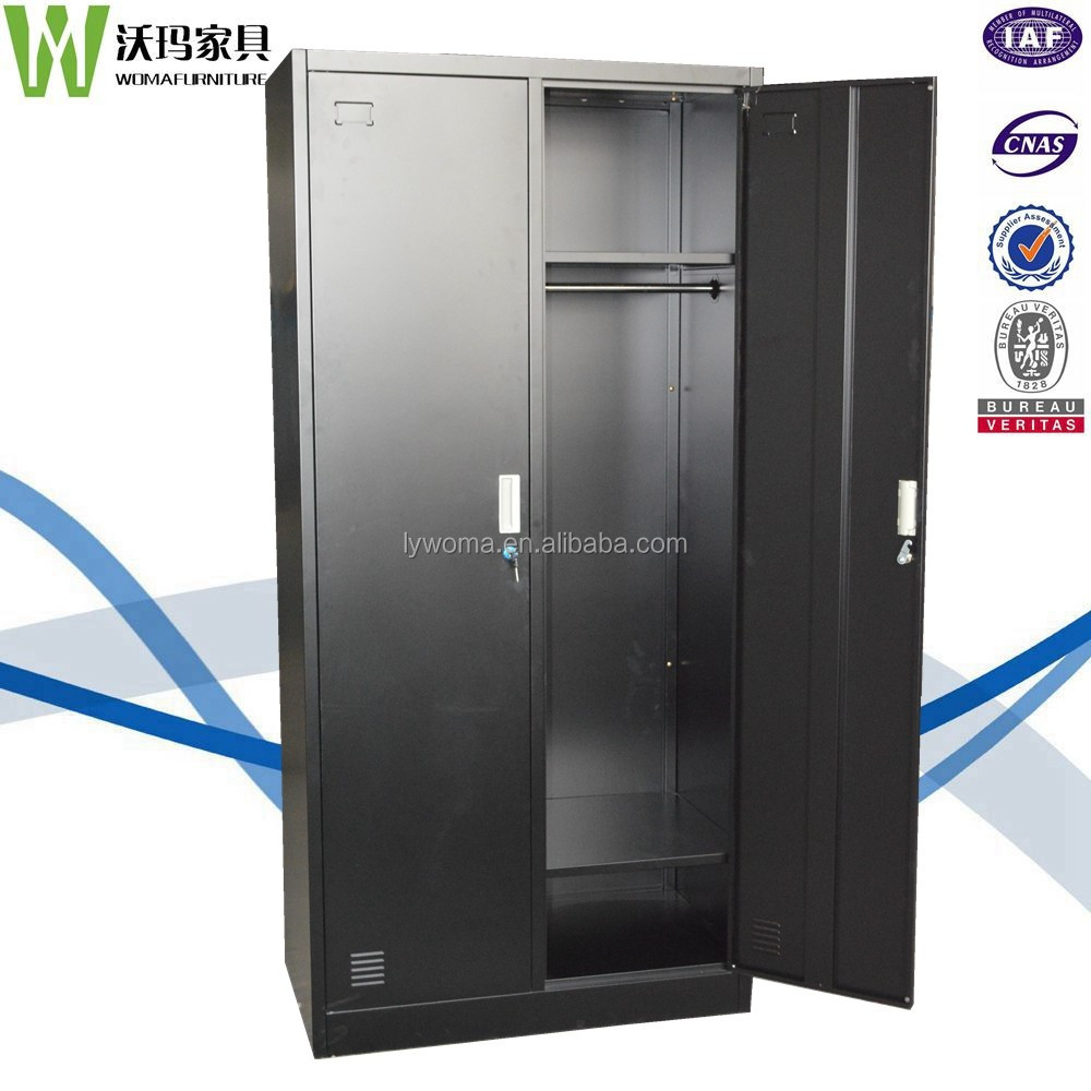 Black Powder Coat Iron Office Contico Storage Locker