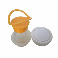 pull ring cap for engine oil/machine oil/brake fluid, 42mm plastic screw cap for bottles