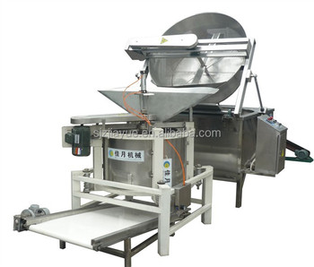 small scale sime-automatic batch industrial deep chips fryer machine