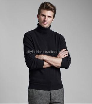 2016 Winter Mens Black 100 Cashmere Turtleneck Sweater Buy Black
