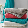 Wholesale quality colored 100% cotton bath towels for adults
