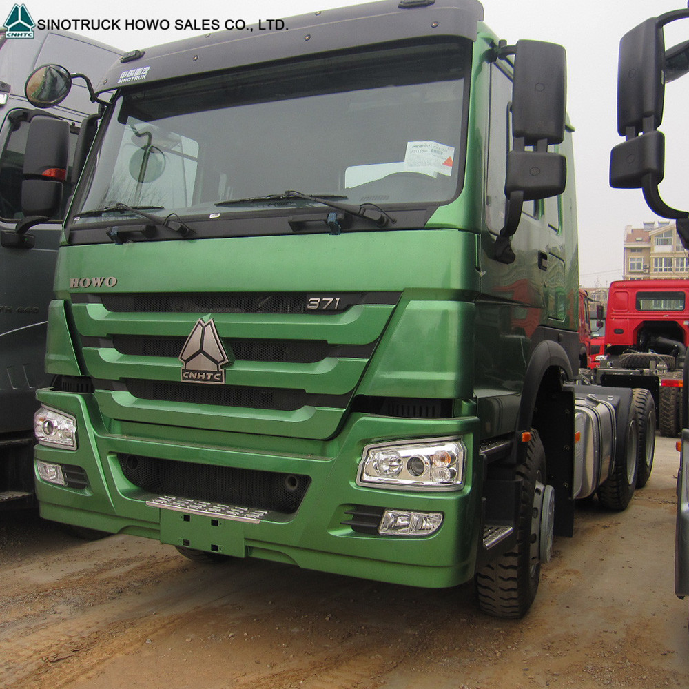 6x4 Prime Mover Truck 371hp And 336hp Left Hand Drive