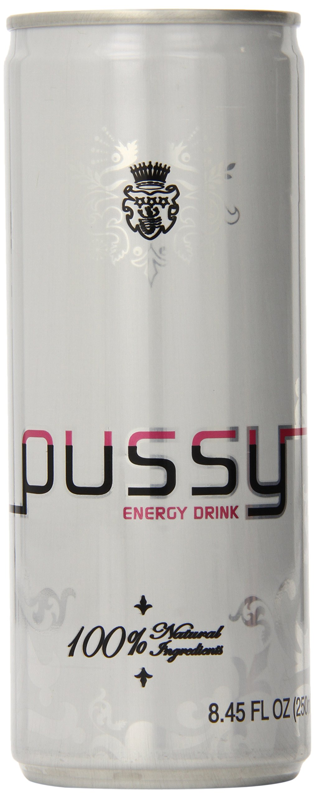 Pussy Natural Energy Drink (250ml - Pack of 4)