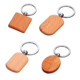 OEM Fashionable Factory Price Wood Wooden Keychains