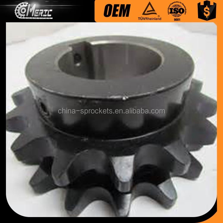 DUPLEX CHAIN DRIVE SPROCKET WITH FINISHED BORE