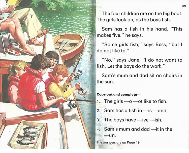 Ladybird Key Words with Peter Jane early education book english Picture Books