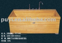 wooden Rectangular Bathtub wooden bathtub
