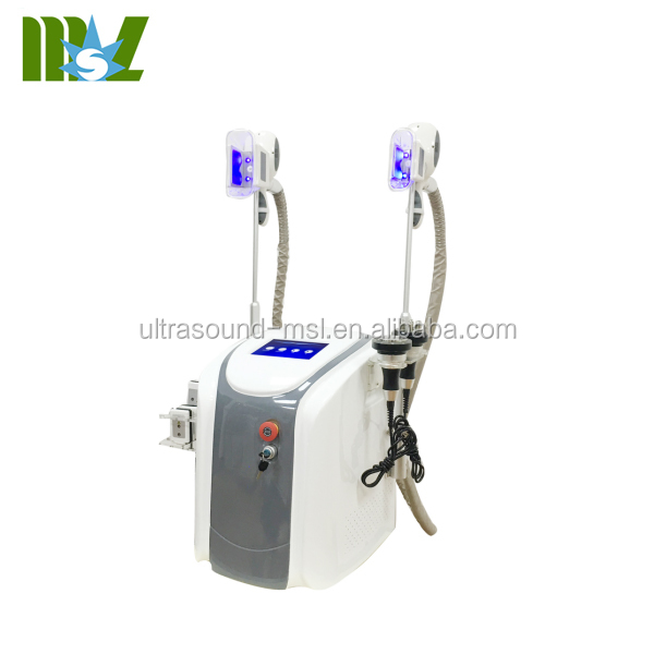 Amazing effect 5 IN 1 body shaping lipo rf cavitation criolipolisis slimming machine MSLCY06