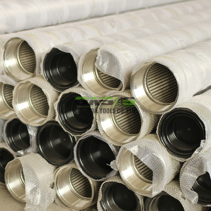water well screen pipe wedge wire slotted screen pipe for drilling