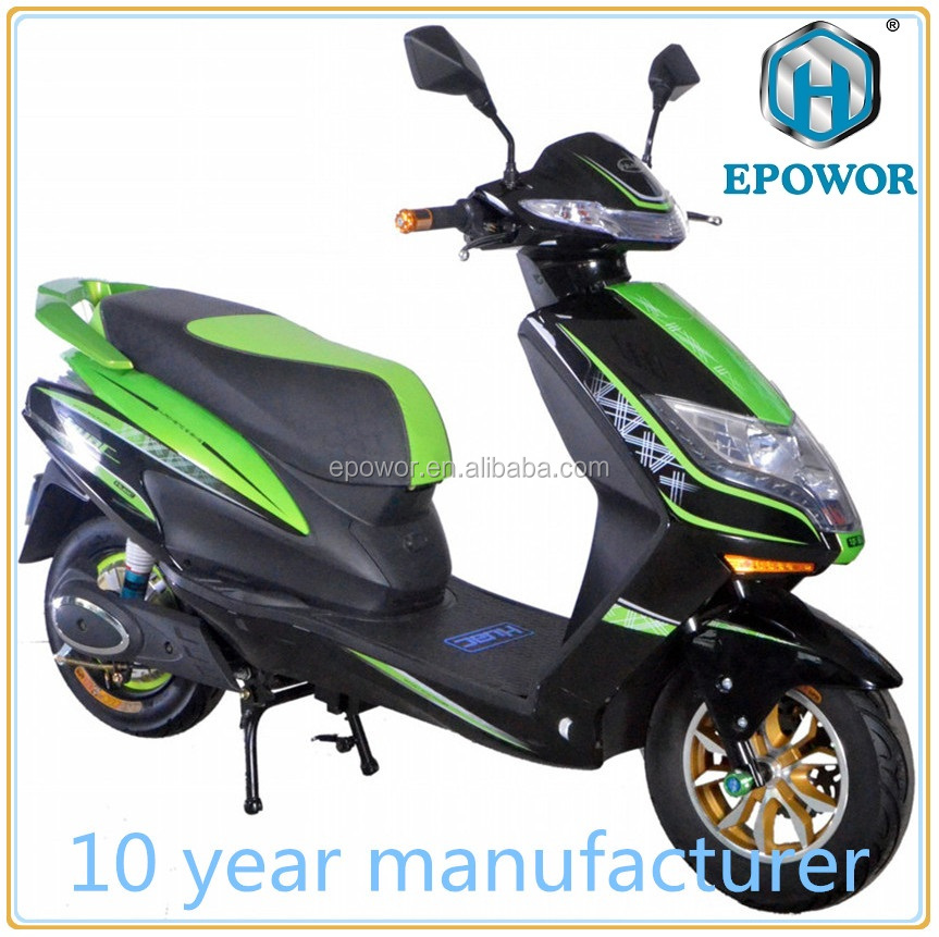 800W electric scooter e-scooter electric motorcycle 60V lead-acid battery for HC-EM52 Raptor