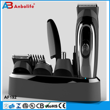 Anbolife hair Excellent Quality Economic Rechargeable Hair Clipper With Nose Trimmer Set