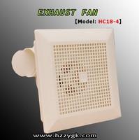Wholesale cheap price small bathroom ceiling mounted exhaust fans bathroom fan ketchen fan (HC18-4)
