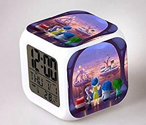 Get Quotations Inside Out Creative Alarm Clock Colorful Reloj Saat Clocks Lights Led Children Despertador Gift