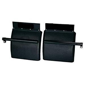 CPW (tm) Black Polyethylene Poly Quarter Fender Set Freightliner, Kenworth, Peterbilt