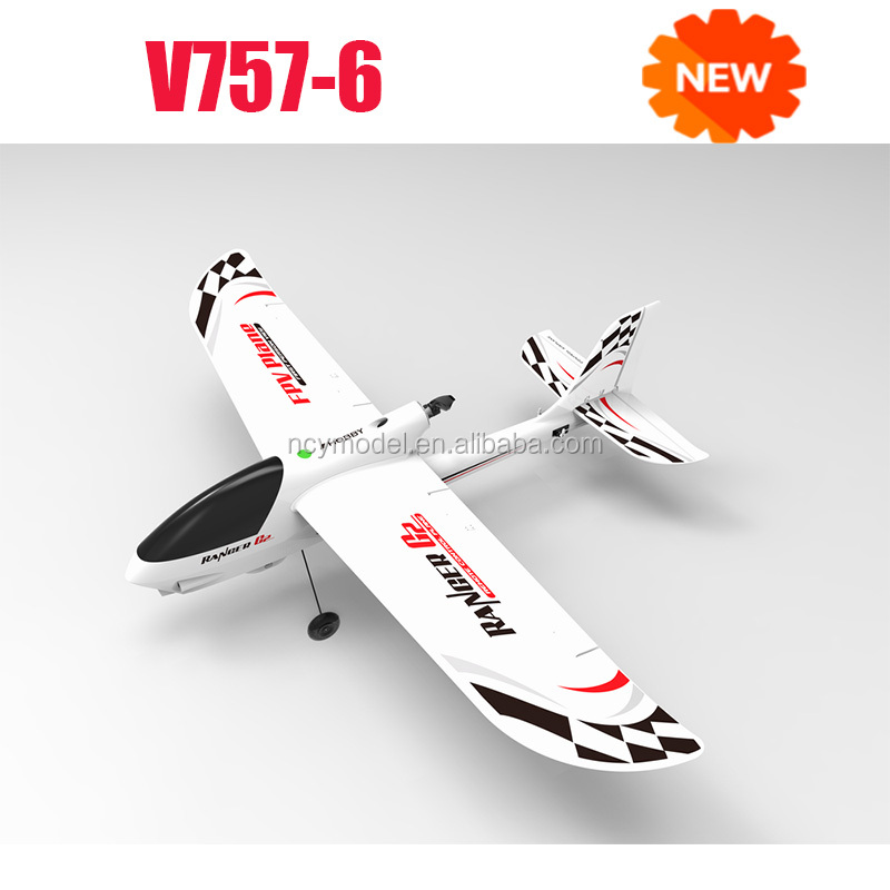 2.4Ghz Radio Remote Control Ranger G2 Airplane RTF (Gyro) w/ EPO High Crash Resistance + Brushless Setup