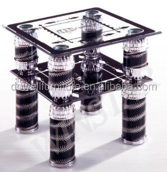 Carré En Verre Côté Tabledesign Moderne Table Basseverre Petite