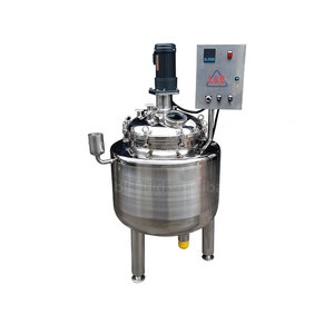 Industrial Jacketed 50L Steel Vegetable Ghee and Cooking Oil Blending Equipment