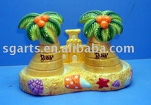 Ceramic salt &pepper Container with painting design