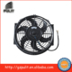 12V universal radiator cooling fan 10 inch universal radiator fan with curved blades for car and bus 10 inch universal fan