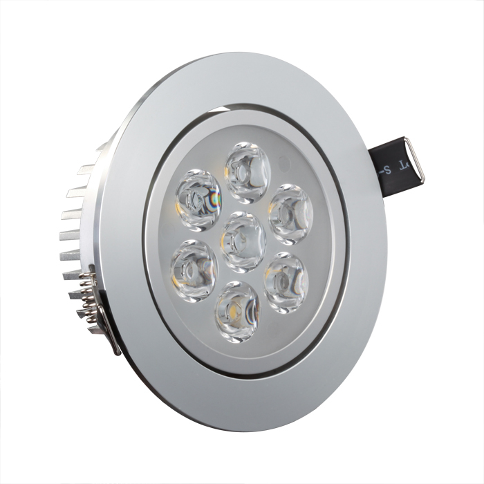 Indoor Spotlight: 7W LED Spot Recessed Light For Indoor Using 600LM 35000