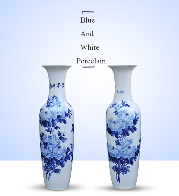 China Vase Ceramic Blue White Wholesale Alibaba