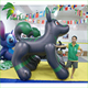 New Design PVC High Quality Giant Black Inflatable Wolf Toys , Wonderful Customized Inflatable Wolfs For Sale