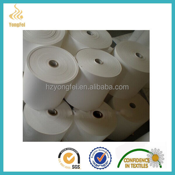 Taffeta barcode label fabric for care label