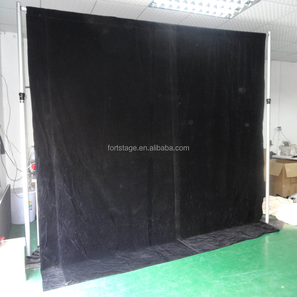 diy telescopic pipe and drape frame backdrops for party rental - buy