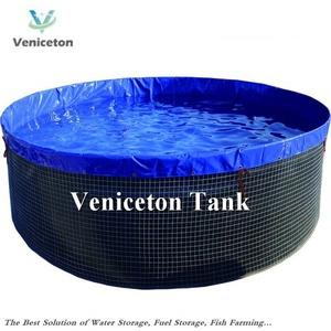 Veniceton customize pond tank liner pvc tarpaulin fish pond or tank fish  canvas tank