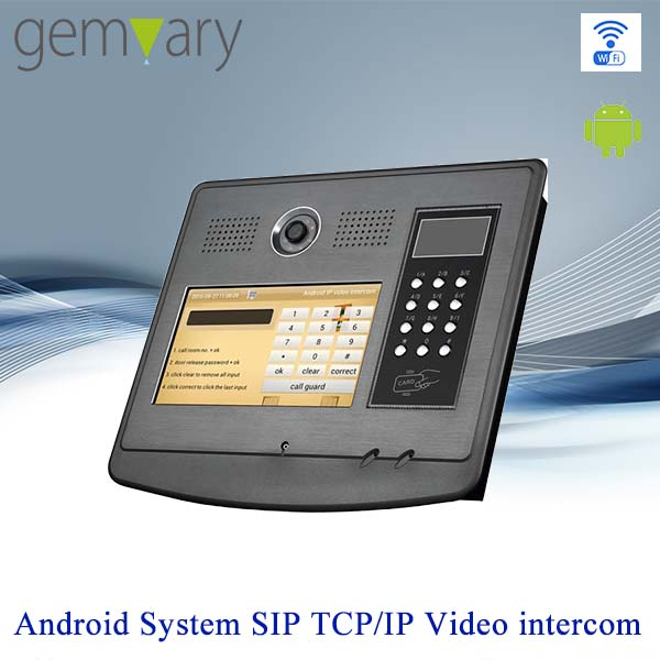 10 inch touch screen android system android interphone