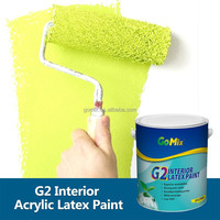 Excellent Washability Low VOC G2 Interior Colour Paint