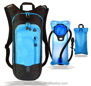 2L Cycling hydration pack Outdoor Sports Cooler Bag KEEPS WATER COOL Lightweight Leak Proof Air Flow System with water bag