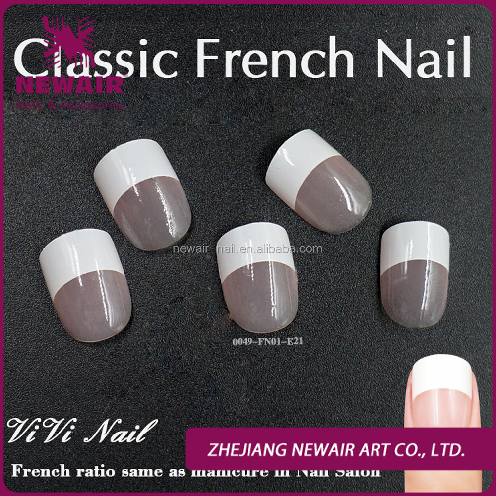 French Tip Fake Nails, French Tip Fake Nails Suppliers and ...