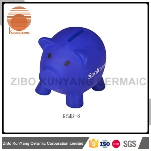 easy carry piggy bank money boxes wholesale white ceramic
