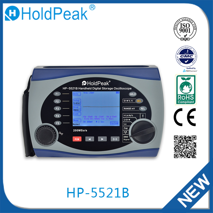 HP-5521B China new products Digital Oscilloscope Portable