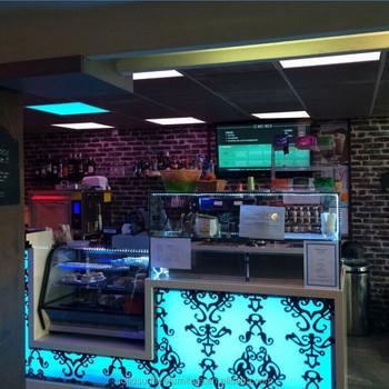 Design Personalizado Incrível Móveis Lounge Bar Iluminado Balcão ...
