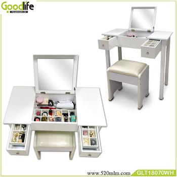 Modern Jewelry Organizer Makeup Vanity Table Mirror Buy Table