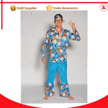 Hippie Kleding.Groothandel Bohemien Hippie Jurken Lange Broek Heren Kostuum Mode