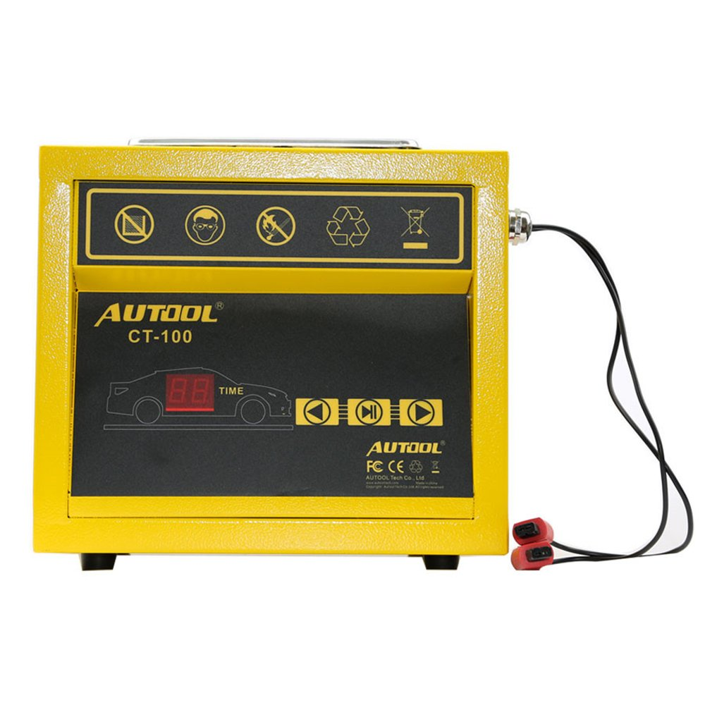 Get Quotations · AUTOOL CT100 CT-100 Petrol Injector Ultrasonic Fuel  Injector Cleaner Machine for Car Motorcycle 110V